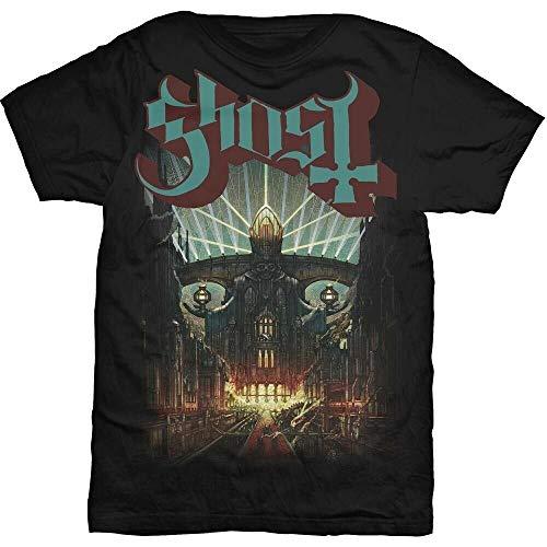 YUQING Meliora Shirt S M L XL XXL T-Shirt Heavy Metal Tshirt Black 3XL