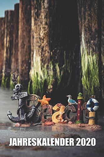 Meerliebe Ostsee Nordsee Kalender 2020: Geschenk, Wochenplaner, Terminkalender, Jahresplaner, Taschenkalender, Handliches Kalenderbuch ähnlich A5 Format auf 108 Seiten