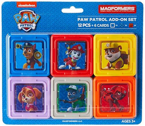 Magformers 66001 Building Kit, Paw Patrol Colors
