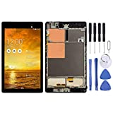 Wangl ASUS Spare LCD Screen and Digitizer Full Assembly with Frame for Asus Nexus PAD 7 2nd ME572 ME572C ME572CL (Black) ASUS Spare (Color : Black)