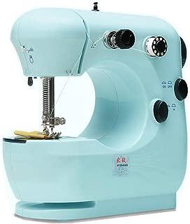 OMIU Multifunction Pink Electric Home Desktop Sewing Machine Handwork US Plug 9W (blue)