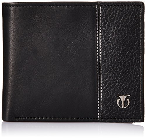Titan Semi Formal Black Men's Wallet (TW111LM1BK)