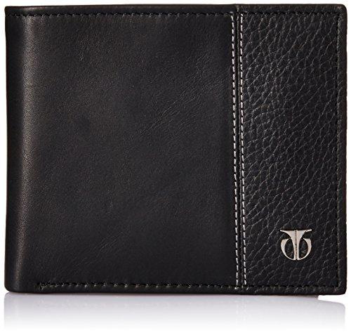 TITAN Black Leather Men's Wallet (TW111LM1BK)