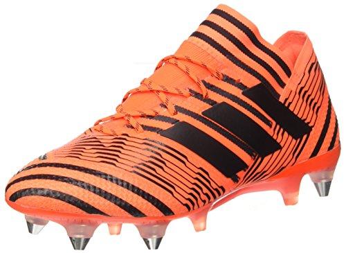 adidas Herren Nemeziz 7 Sg Fußballschuhe, Mehrfarbig (Solar Orange/core Black/solar Red), 43 1/3 EU