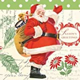 Letters to Santa Christmas Luncheon Napkins 18 Per Pack