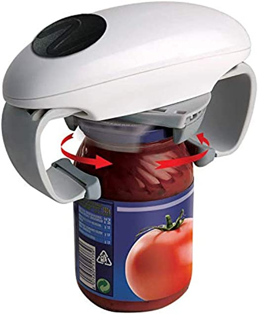 DIXIUZA Electric Can Opener Hands Free Bottle Restaurant Automatic Jar Opener Kitchen Tools Tin Opener Gadget