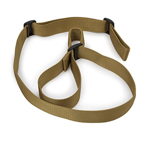 STI Rifle Sling - 2 Point Sling with Adjustable Thumb Loop for Hunting Sports and Outdoors -...