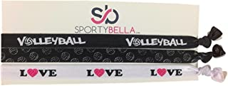 Volleyball Headbands, Volleyball Hair Accessories for Women & Girls, for Volleyball Players & Teams