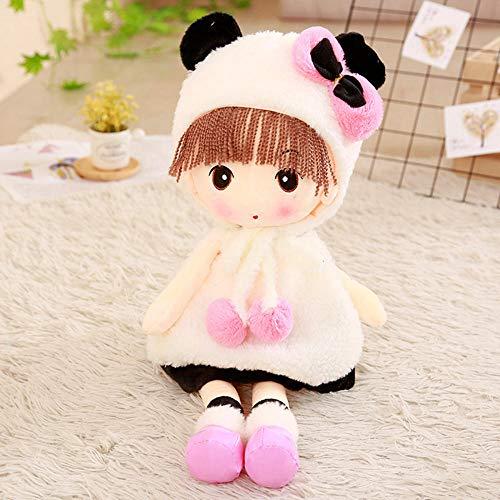 YZHCMKA-N Sombrero Faye Soft Girl Plush Toy Boy Snow Meng Princess Cloth Doll Child Sleeping Doll-60Cm_04