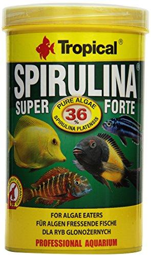 Tropical Super Spirulina Forte (36%) Flockenfutter, 1er Pack (1 x 1 l)