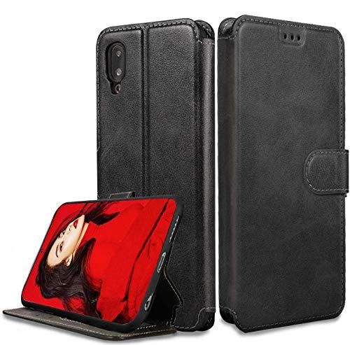 LeYi Cover per Samsung Galaxy A40 con HD Pellicola Protettiva, Custodia Flip Pelle Libro Silicone TPU Bumper Portafoglio Full Skin Fondina Morbida Sco