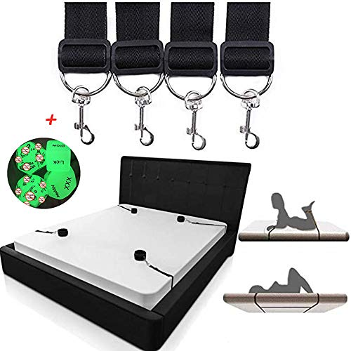SmartRing Kit de Restriction de lit avancé en matériaux de qualité médicale, Confortable et Confortable + boîte-Cadeau avec Manchon de Cheville Souple, Couleur aléatoire