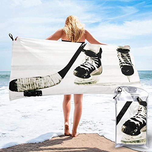 Duschtücher Schnelltrocknendes Handtuch für Travel Beach Bad Schwimmen Camping Eishockey Schnelltrocknende Schwimmen Strandtücher 27.5