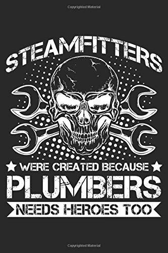 Steamfitters: Dampfpfeifenhersteller Humor Dampfrohrhersteller Papa  Notizbuch DIN A5 120 Seiten für Notizen, Zeichnungen, Formeln | Organizer Schreibheft Planer Tagebuch