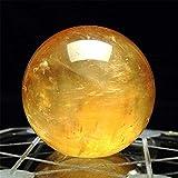 Bola de cristal con soporte 1 unids 40 mm Citrino natural de cuarzo esfera de cristal bola sanación piedra preciosa tigre ojo piedra decoración del hogar bola de cristal Bola de cristal con soporte de