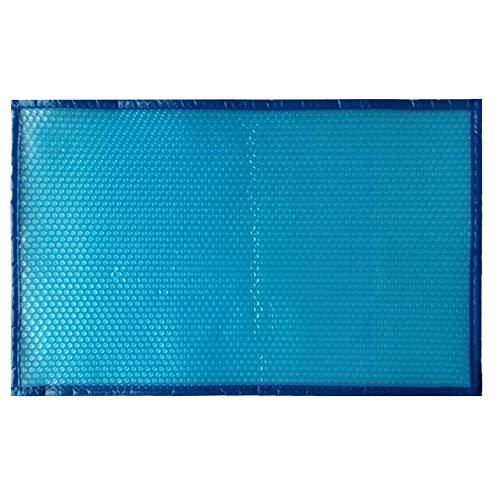 Cubierta solar rectangular, manta calefactora para piscinas, manta de spa flotante con cubierta de burbujas para bañeras de hidromasaje, manta calefactora solar aislante recortable de alta resistencia