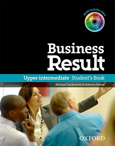 Business Result. Upper-intermediate. Student Book with DVD-ROM Pack