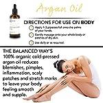 Pure huile d'argan - 100% biologique pour Cheveux, Peau, Corps, Cuticles et Ongles — Revitalisant pénétrant sans rinçage/Hydratant anti-âge et antirides 100 ml. #3