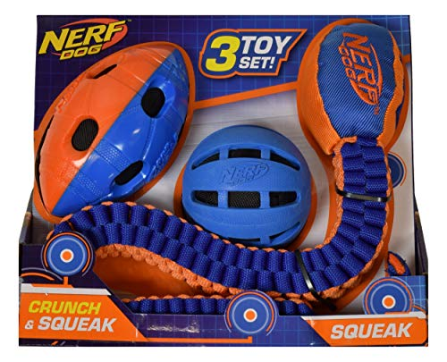 Nerf Dog Assorted Toy Set 3Count