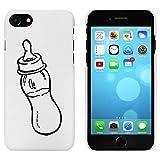Azeeda Weiß 'Babyflasche' Hülle für iPhone 7 (MC00064832)