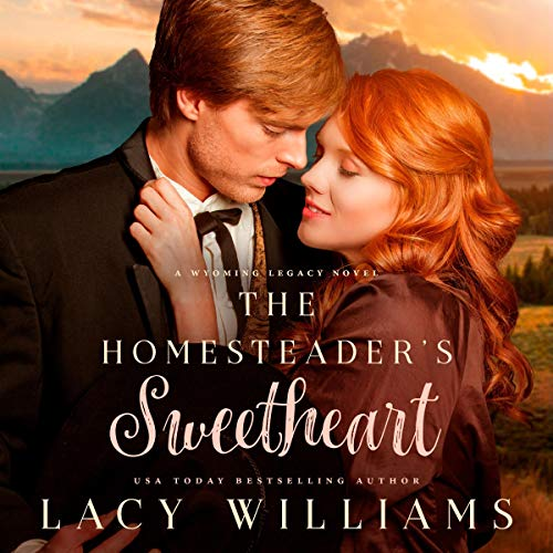 The Homesteader's Sweetheart audiobook cover art