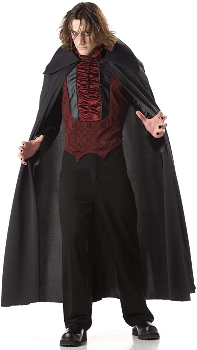 Count of Large High order special price Mayhem Dracula Costume Adult -