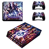 46 North Design PS4 Pro Vinyl Decal Autocollant Skin Sticker SuperHero Pour Playstation 4...