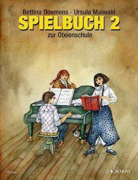 Ursula Maiwald: Spielbuch zur Oboenschule Band 2, 40 Spielstücke, mit Klavierstimme zum Herunterladen (Musiknoten)