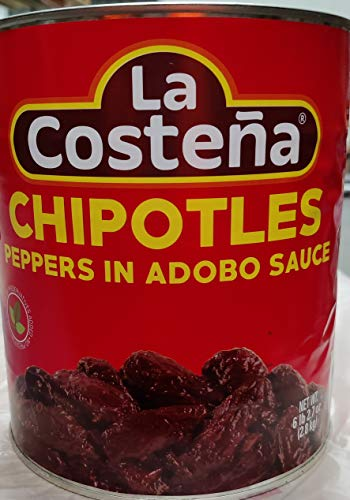 La Costeña Chipotles lata 2800 gr