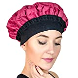 Gorro térmico para el cabello. Gorro calor para pelo que hidrata, humedece y acondiciona con vapor. Para microondas. Recomendado para acondicionadores y tratamiento para cabello dañado (Magic Gel)