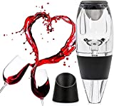 Conjunto de vino del aireador de vino, decantador de vino tinto de calidad superior, difusor de aire, oxigenador y spout de aire enfriado con sabores mejorados, el mejor regalo for los entusiastas