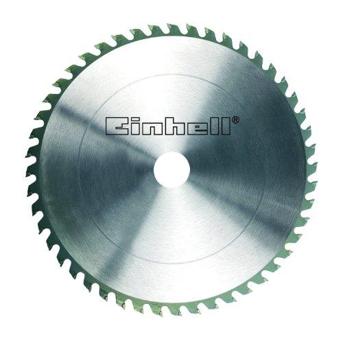 Einhell Hartmetall Sägeblatt (passend für stationäre Sägen von Einhell, 205 x 16 x 2,5 mm, 48 Zähne)