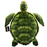 JESONN Realistic Stuffed Marine Animals Toys Turtle Plush Tortoise (Green, 20 Inches)