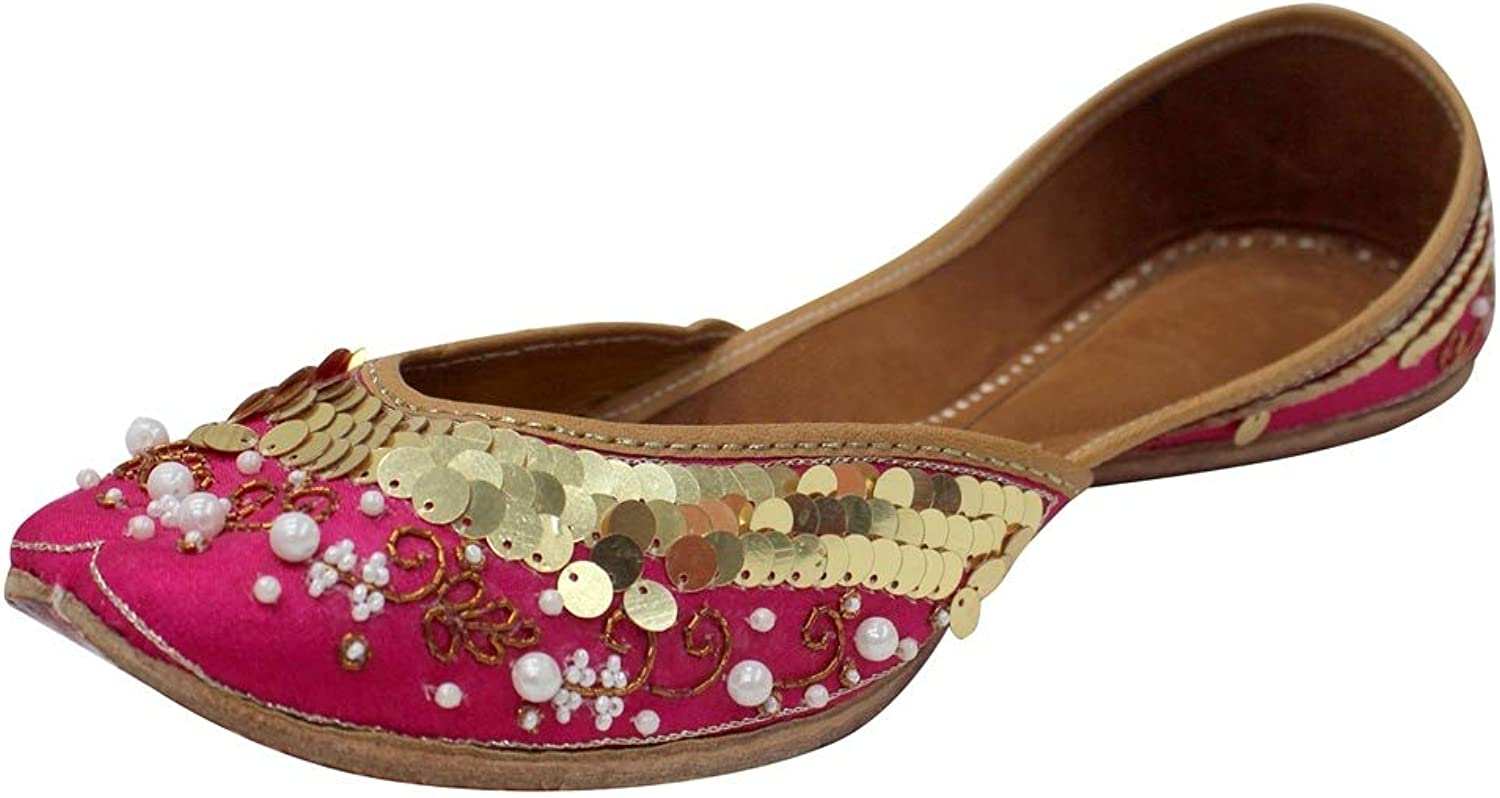 Step n Style 6 to 10 Indian Bohemian Mojari Bridal Khussa Mojari Jutti Ethnic Khussa