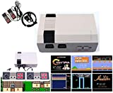 GiGimelon Classic Game Console Built-in 621 Game, with 2 Joysticks, Video Game Console, Handheld Game Player Console for Family TV HDMI HD