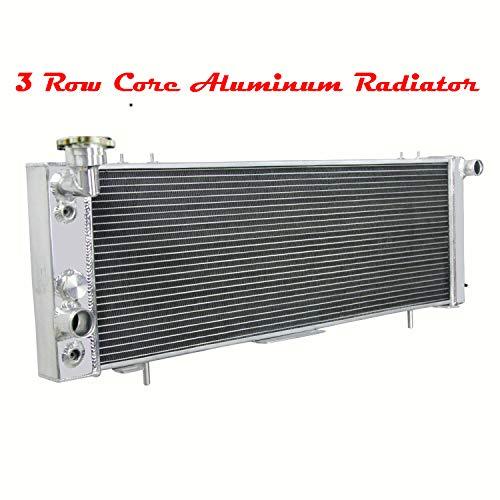 ALLOYWORKS 3 Row Aluminum Radiator for Jeep Cherokee XJ 2.5L /4.0L I4 /I6 Engine 1991-2001 /Jeep Comanche 2.5L /4.0L I4 /I6 Engine 1991-92
