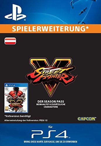 Street Fighter V - Season Pass 2016 [Spielerweiterung] [PS4 PSN Code - österreichisches Konto]