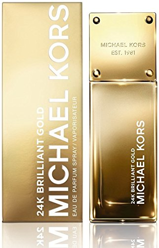 Michael Kors 24K Brilliant Gold Eau de Parfum Spray , 1er Pack (1 x 30 ml)