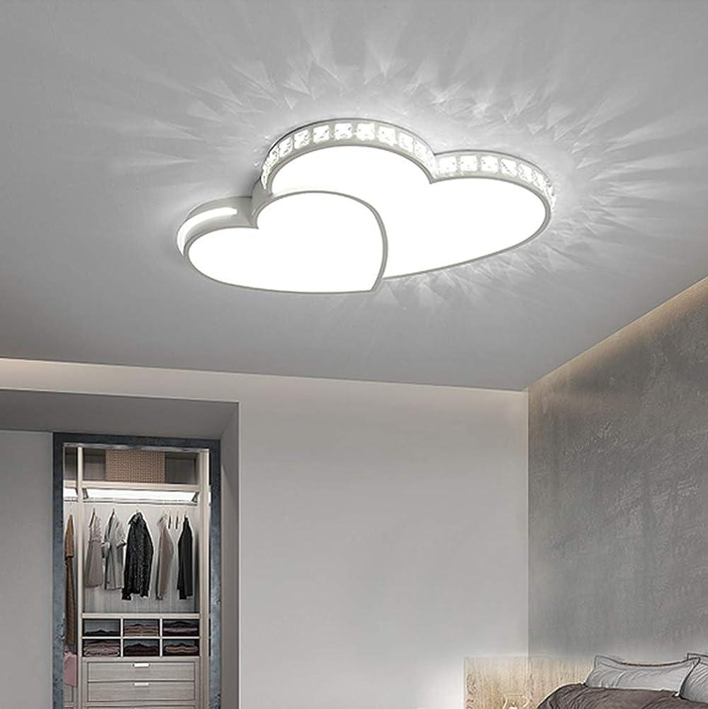 Led plafoniera cuore lampada da soffitto modern HAOYONG