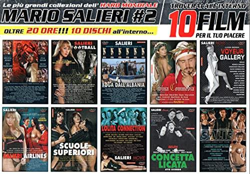 ( 50 DVD ) MARIO SALIERI - LE PIU GRANDI COLLEZIONI DELL'HARD MONDIALE - DVD PORNO