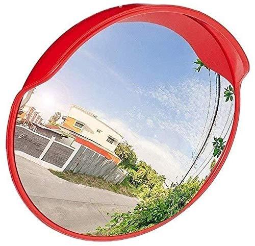 Hfyg Verkeersspiegel Smalle Verkeersveiligheid Spiegel, Convex Spiegel Parkeerplaats Veel Ingang veiligheidsspiegel 60CM