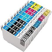 ESMOnline kompatible XL Druckerpatronen (4 Farben) als Ersatz für Epson 18 (T180x und T181x) zu Epson Expression Home XP 425 422 415 412 405WH 405 402 325 322 315 312 305 302 30 225 215 205 202 102 (10er Set)