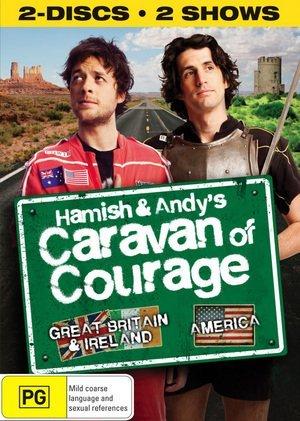 Hamish & Andy\'s Caravan of Courage [Regions 2 & 4] by Hamish Blake