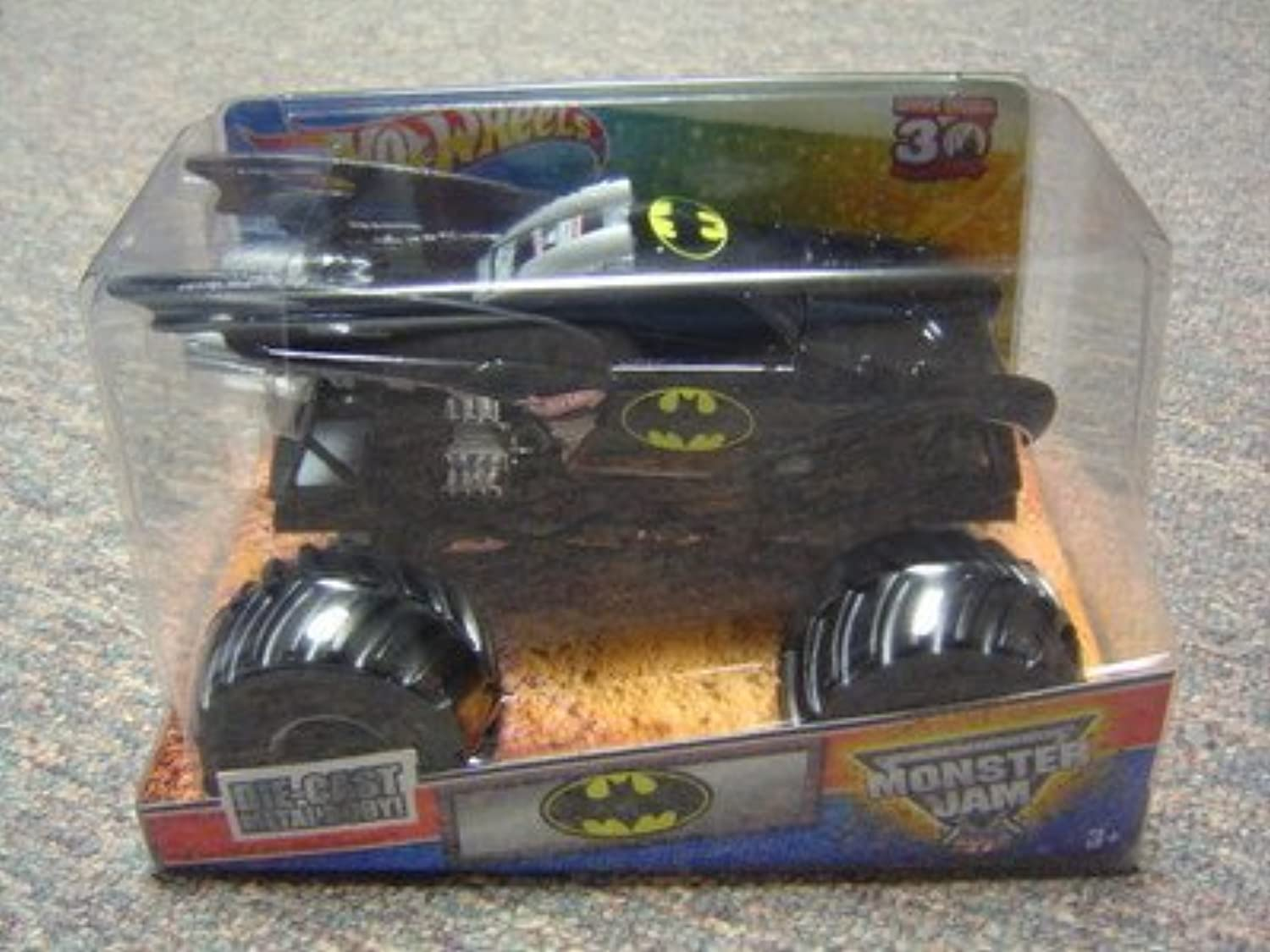 Monster Jam 1 24 Die Cast Grave Digger 30th Anniversary 2012 Edition Batman Monster Truck by MATTEL