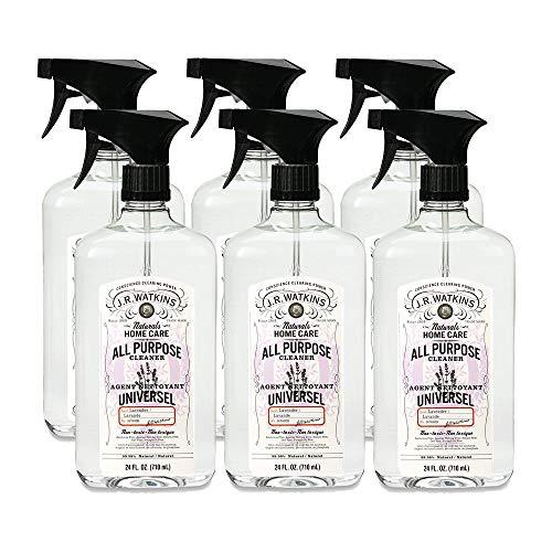J.R. Watkins All Purpose Cleaner, 24 fl oz, Lavender (6 pack)
