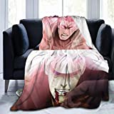 XIAOSHUO Anime Naruto Uchiha Madara Fleece Throw Blankets Ultra Soft Warm Cozy Plush Blanket Anti-Pilling Flannelt,for All Seasons for Couch Bed Sofa 60'' X50