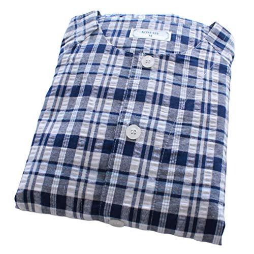 Korte mouwen voor verpleegsters, korte broek, Easy Wear, senioren en gehandicapte pyjama M
