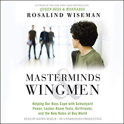 Masterminds and Wingmen audiobook cover art