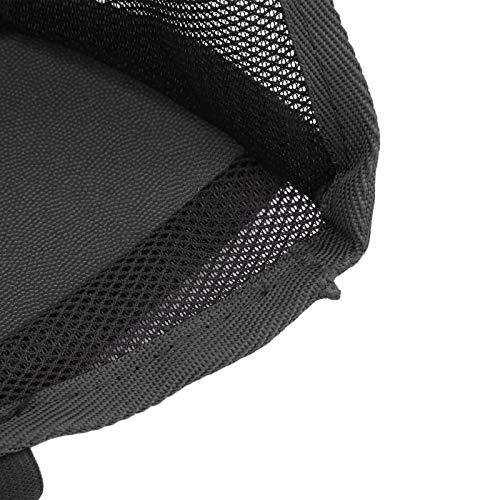 minifinker Soporte Universal de Bolsillo para Red de Coche para Uso en Coche(Black)