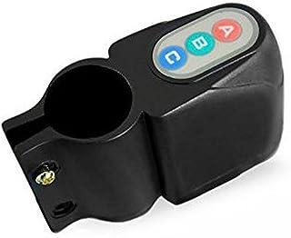 Alarma Bicicleta Sonora Antirrobo Contraseña Sensor Vibraciones Sirena Seguridad , Electrónica Rey®